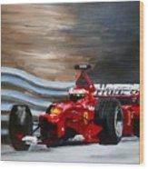 Schumacher Monaco Wood Print