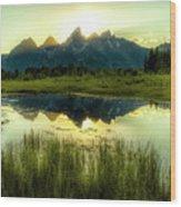 Schwabacher's Landing Wood Print