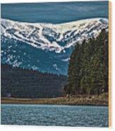 Schweitzer Mountain Resort Wood Print