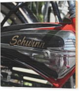 Schwinn Black Phantom Wood Print