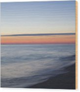 Sciasconset Morning Nantucket Wood Print
