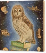 Scientia Wood Print