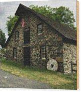 Sciota Mill Pennsylvania Wood Print