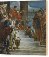 Scipio Africanus Freeing Massiva Wood Print