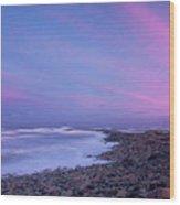 Scituate Sunset  Wood Print