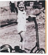 Scooter 1941 Wood Print