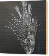 Scorpion Fish Wood Print