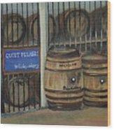 Scotch Whiskey - Barrels - Macallan Wood Print