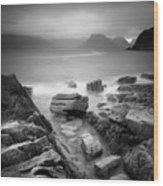 Scotland Elgol Wood Print