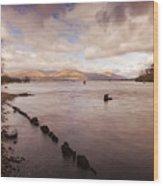 Scotland Landscape Wood Print