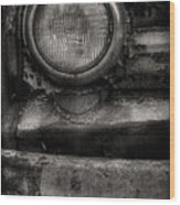 Scotopic Vision 7 - Headlight Wood Print