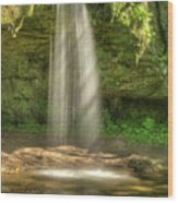 Scott Falls 4741 Wood Print