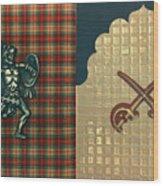 Scottish Arabian Wood Print