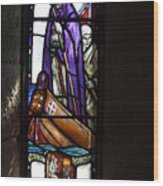 Scottish Stained Glass Window #2 Wood Print
