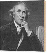 Scottish Surgeon John Hunter Wood Print
