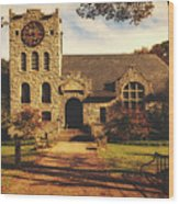 Scoville Memorial Library - Salisbury, Connecticut Wood Print