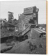 Scranton Pennsylvania Coal Mining - C 1905 Wood Print