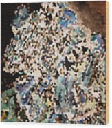 Scrap Yard Mosaic Wood Print