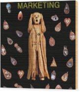 Scream Marketing Wood Print