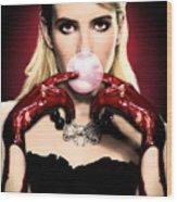 Scream Queen's - Chanel Oberlin Wood Print