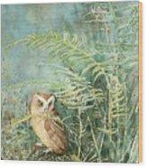 Screech Of Inglis Island Wood Print