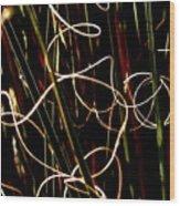 Scribble Wood Print