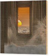 Scrippshenge 2 Wood Print