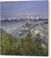 Scull Canyon Wood Print