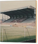 Scunthorpe United - Old Showground - East Stand 2 - 1970s Wood Print
