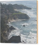 Sea Air Wood Print