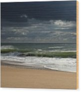 Sea And Sky - Jersey Shore Wood Print