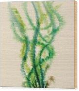 Sea Bed One Wood Print