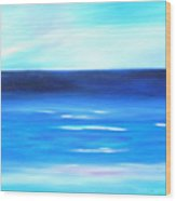 Sea Calm Wood Print