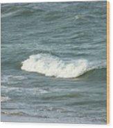 Sea Crest Wood Print