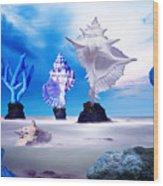 Sea Dancers Wood Print