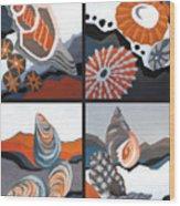 Sea Floor Wood Print