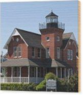 Sea Girt Lighthouse - N J Wood Print