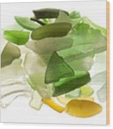 Sea Glass Wood Print by Fabrizio Troiani