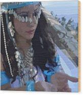 Sea Goddess Wood Print