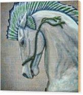 Sea Horse Wood Print