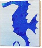 Sea Horse Love 44 Wood Print