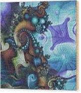 Sea Jewels Wood Print