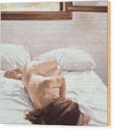 Sea Light On Your Body Wood Print by John Worthington