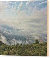 Sea Of Clouds Wood Print by Manuel Benito