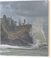 Sea Power Wood Print