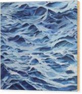 Sea Rhythms Wood Print