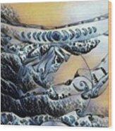Sea Shaman Wood Print