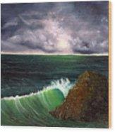 Sea Shine Wood Print