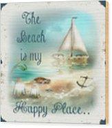 Sea Side-jp2734 Wood Print