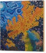 Sea Sponges Wood Print